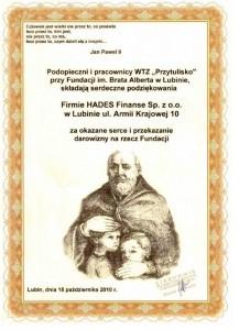 Fundacja im. Brata Alberta w Lubinie