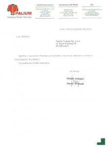 Stowarzyszenie PALIUM w Lubinie